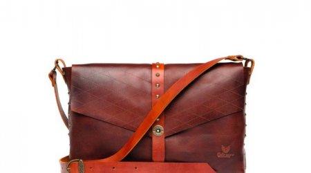 Модные кожаные сумки через плечо
