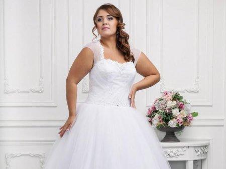 Свадебные платья для полных - 2018