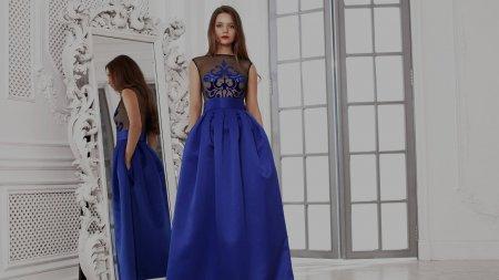 Вечерние платья в пол – 2017