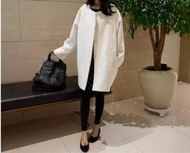 Модное пальто-кокон
