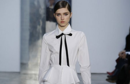Модные белые блузки и рубашки – 2018
