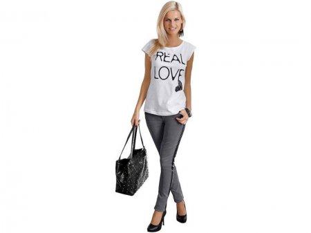 Серые джинсы: с чем носить?