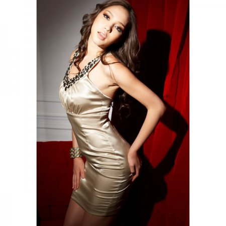 Модные шелковые платья