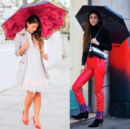 Стильные женские зонты – 2018