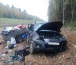В Вытегорском районе внедорожник вылетел в кювет: погиб 45-летний пассажир машины
