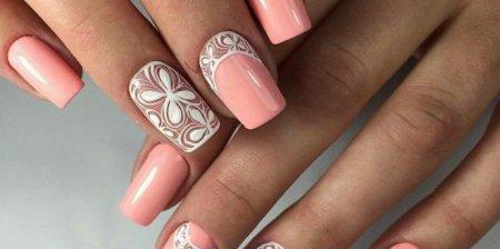 Модные вариации на тему розового маникюра