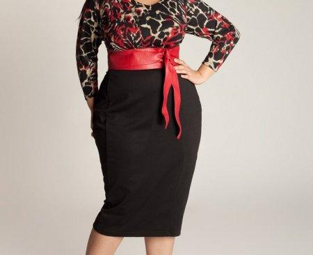 Модные летние юбки больших размеров