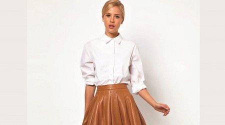 Расклешенная юбка: с чем носить?