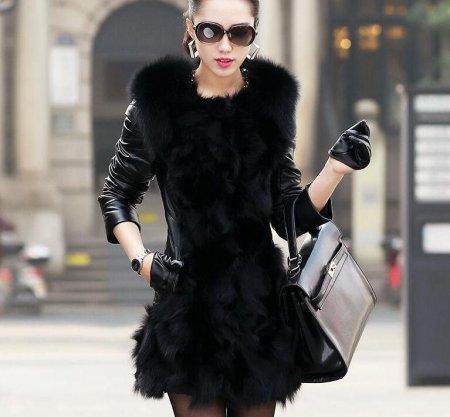 Модные пальто из искусственного меха