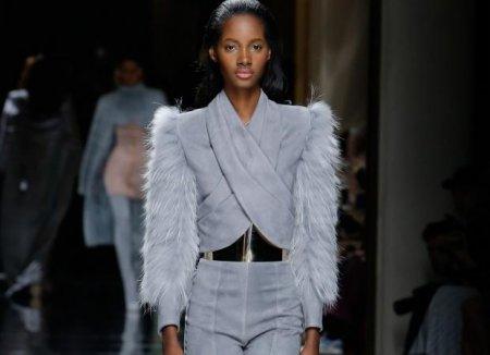 Меховые рукава – модный тренд – 2018