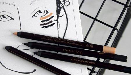 Контурный карандаш для глаз: история и современность