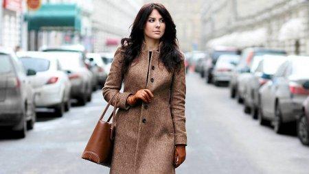 Модные шерстяные пальто