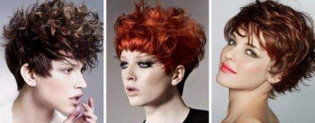 Модные стрижки для волнистых волос 2018