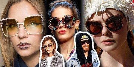 Долой тривиальность: выбираем необычные солнечные очки