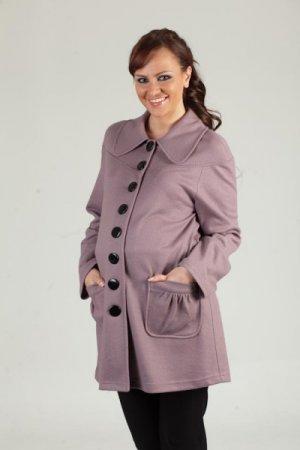 Модные пальто для беременных