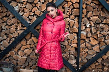 Стеганые пальто на синтепоне