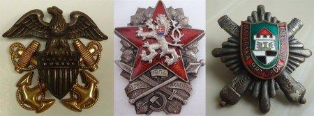 Военные значки для образа в стиле милитари