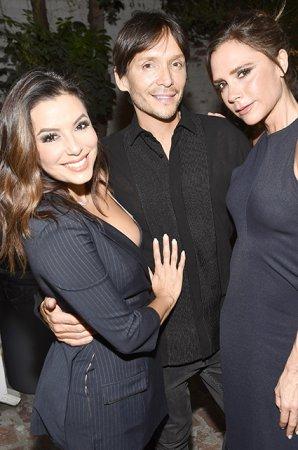 Дэвид и Виктория Бекхэмы в Лос-Анджелесе на вечеринке