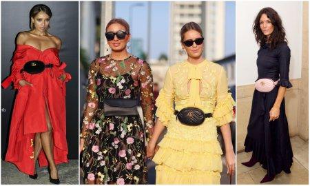 Модная сумка-банан: с чем носить?
