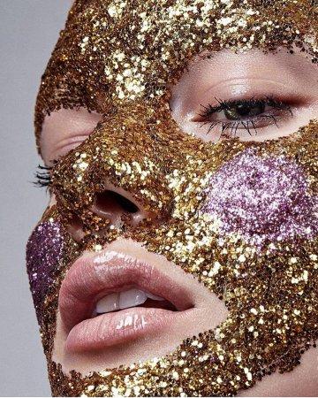Глиттер – новый модный тренд -2018