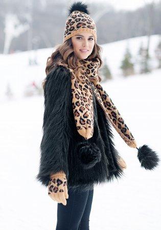 Модные меховые пальто