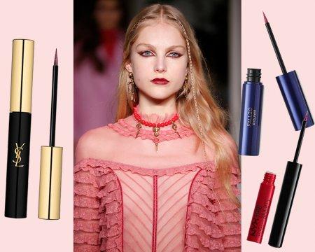 Стрелки цвета марун — самый дерзкий модный тренд осени