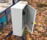 В Череповце у организации инвалидов «Ареопаг» украли уличные прожекторы
