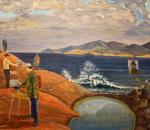 Выставка картин с видами Баренцева моря открылась в Вологде