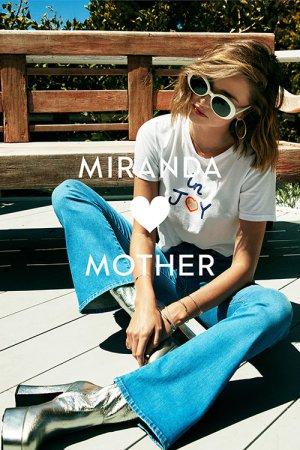 Коллекция одежды из денима от Миранды Керр