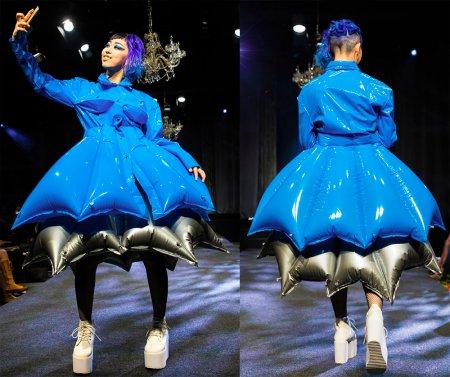 Надувная одежда от Michiko Koshino – 2017