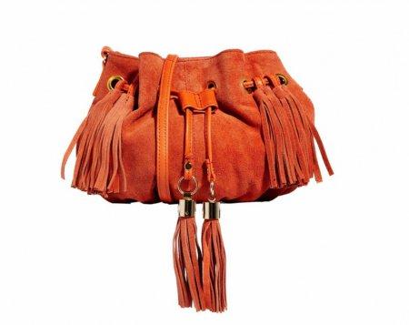 Замшевые и кожаные сумки с бахромой – 2018