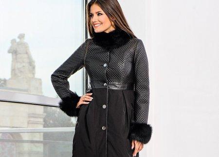 Модные теплые пальто