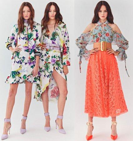 Модная коллекция Alice+Olivia весна-лето 2018