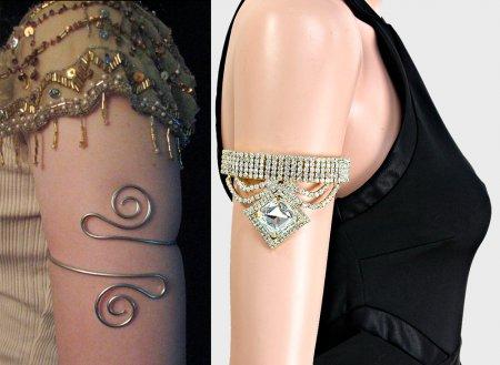 Модные браслеты на плечо