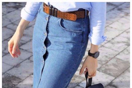Джинсовая мода – 2018