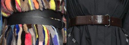 Модные женские пояса и ремни – 2018