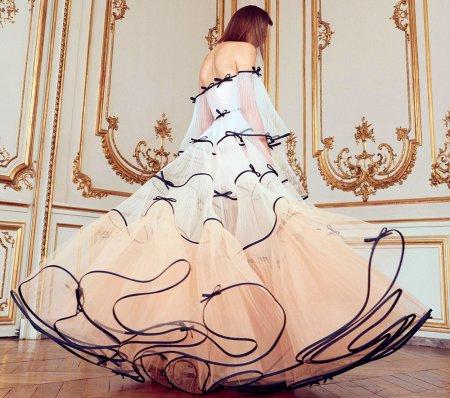 Модные бальные платья с пышной юбкой – 2018
