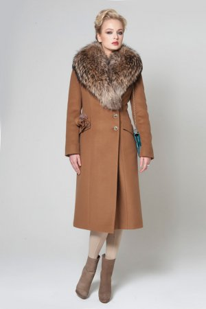 Модные утепленное пальто