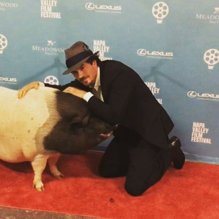 Йен Сомерхолдер и Никки Рид награждены за вклад в защиту и помощь животным