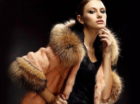 Модные шубы из натурального меха