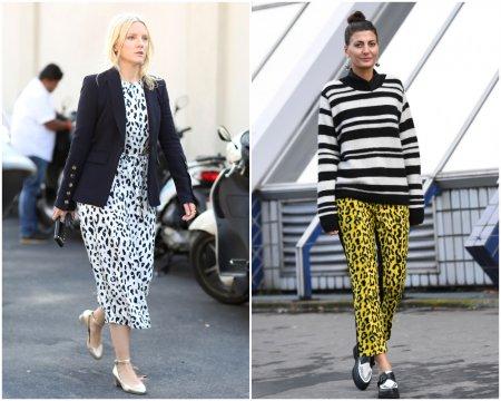 Как правильно носить вещи с леопардовым принтом?