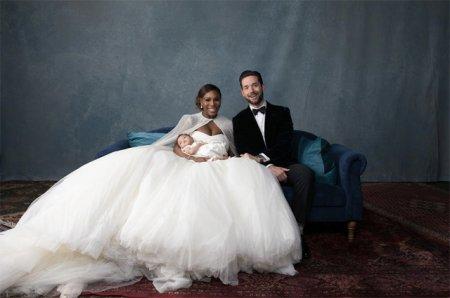 Серена Уильямс и Алексис Оганян поженились