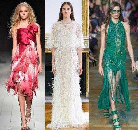 Модные платья в стиле Чикаго – 2018