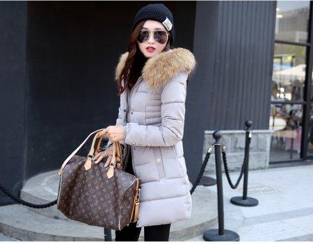 Модные куртки с мехом