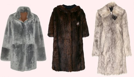 Модные расцветки шуб из экомеха – 2018