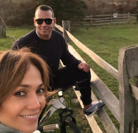 Дженнифер Лопес и Алекс Родригес вместе провели выходные