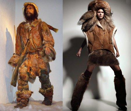 Стиль одежды первобытных людей в современной моде