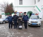 В Вологодской области освятили еще одну дорогу и патрульные машины ГИБДД
