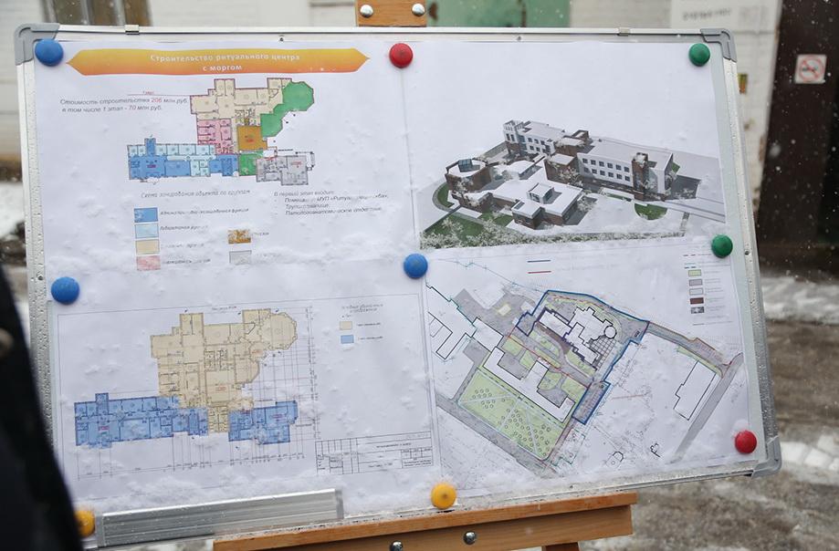 Вместо морга в Вологде построят многофункциональный ритуальный центр с «единым окном»