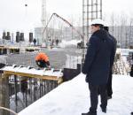 В школе на Северной в Вологде готовятся возводить стены первого этажа